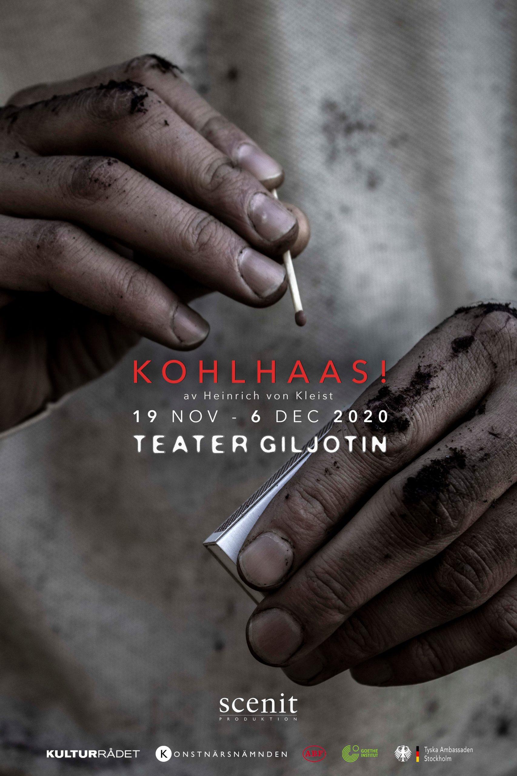 Kohlhass på Teater Giljotin